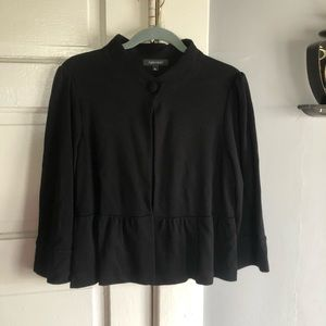 Women's Black Jacket with One Button on top. Sz xl